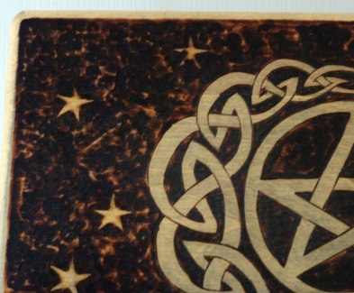 BlackSunArts Pentacle Moon Box