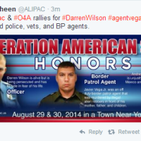 "Killer Cop Darren Wilson to be ""honored"" by Americans for Legal Immigration PAC"