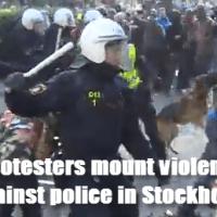 Swedish protesters mount violent rebellion against police in Stockholm
