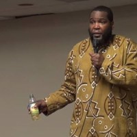 Dr. Umar Johnson questioned by LGBT Feminist and accused of homphobia