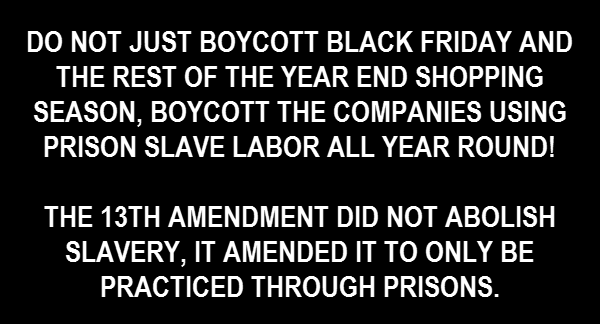 P.O.P. HONORS SPIRIT OF 'JUSTICE OR ELSE'! SUPPORTS BLACK FRIDAY BOYCOTT/UPDATED