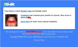 zoosk free messages