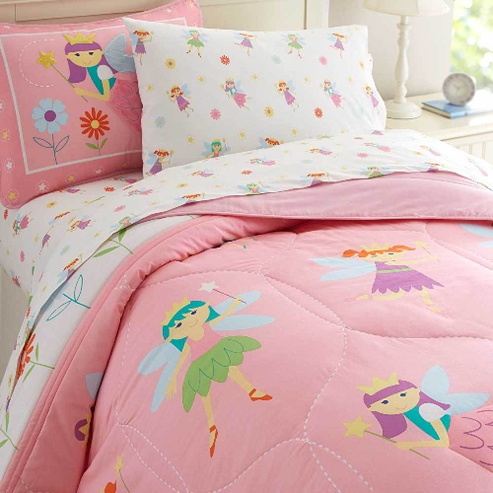 Cool Fairy Princess Twin Size Comforter Set By Olive Kids Olive Kids Bedding Fairy Princess Twin Size Comforter Set Kids Bedding Sets Twin Kids Bedding Sets Purple Girls baby Kids Bedding Sets