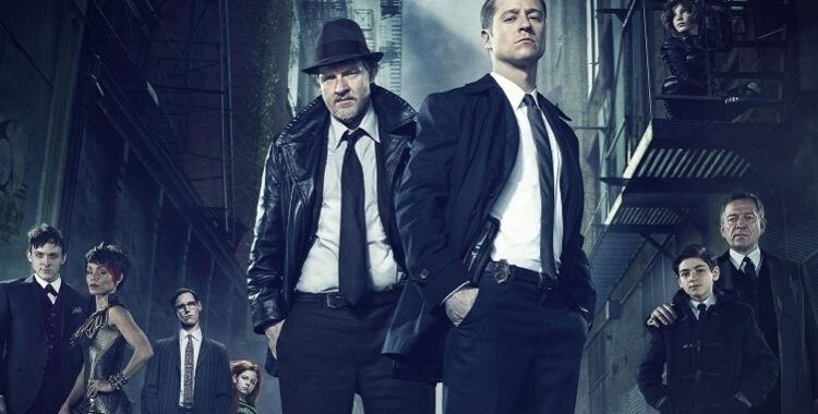 Gotham starring Ben McKenzie, Donal Logue, Jada Pinkett-Smith, DC Comics Batman Origins 2014