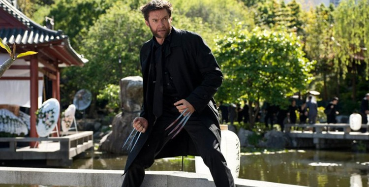 Hugh Jackman in and as The Wolverine