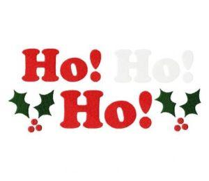 Ho Ho Ho 6X10 Hoop