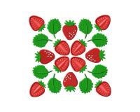 Strawberry Square 5_5 inch