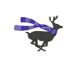 Scarfed Deer 5_5 inch