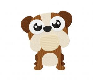 Bulldog Bobblehead Puppy 5_5 inch