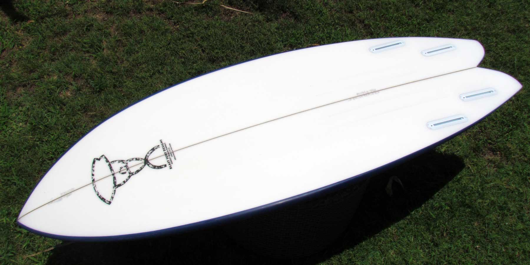 Blast fish hybrid blast surf designs hawaii for Hybrid fish surfboard