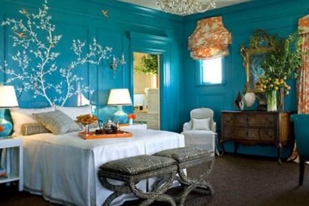 artistic small bedroom decorating ideas e1309669952587