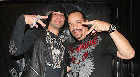 No, not Ice T too! Criss Angel infected him with THE DOUCHINESS!!