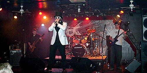 Left to right: Lemmy Kilmister, Willy Wonka, Ringo Starr, Thurston Moore