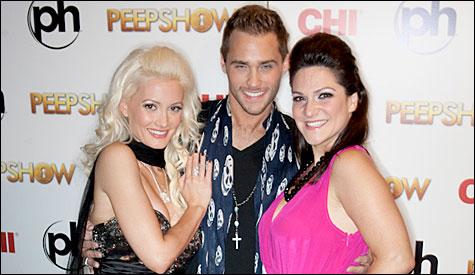 "Holly Madison, Jason Strickland and Shoshana Bean will star in the sequel to Peepshow, ""Threesome."" Not really. (Photo by Erik Kabik | RETNA | erikkabik.com"