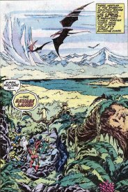 The Savage Land, by John Byrne