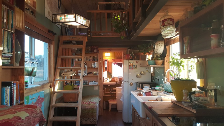 Family Tiny House Interior