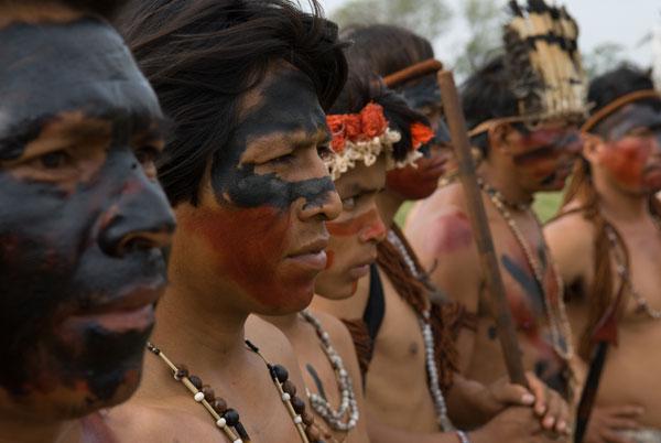 Guarani-Kaiowa Indianer im Mato Grosso
