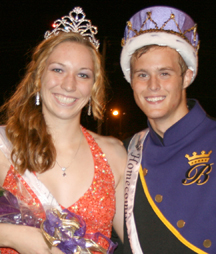 Denecker, Southward crowned BHS homecoming royalty