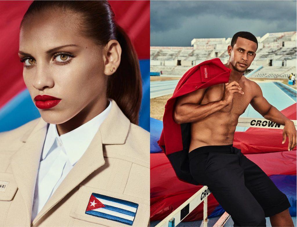 Christian Louboutin pour l'équipe de CUBA4