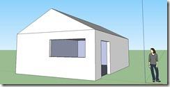 dessiner une maison 3d avec l outil pousser tirer de. Black Bedroom Furniture Sets. Home Design Ideas
