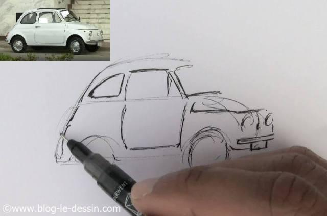 dessiner une voiture facile 9