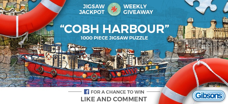 Cobh Harbour Jigsaw Puzzle Giveaway