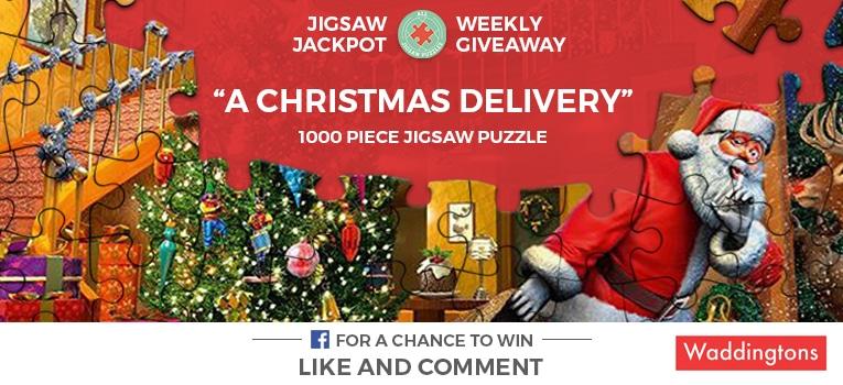 Waddingtons Christmas Jigsaw Puzzle