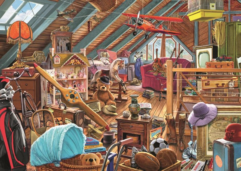 Toys in the Attic 1000 piece Jigsaw Puzzle