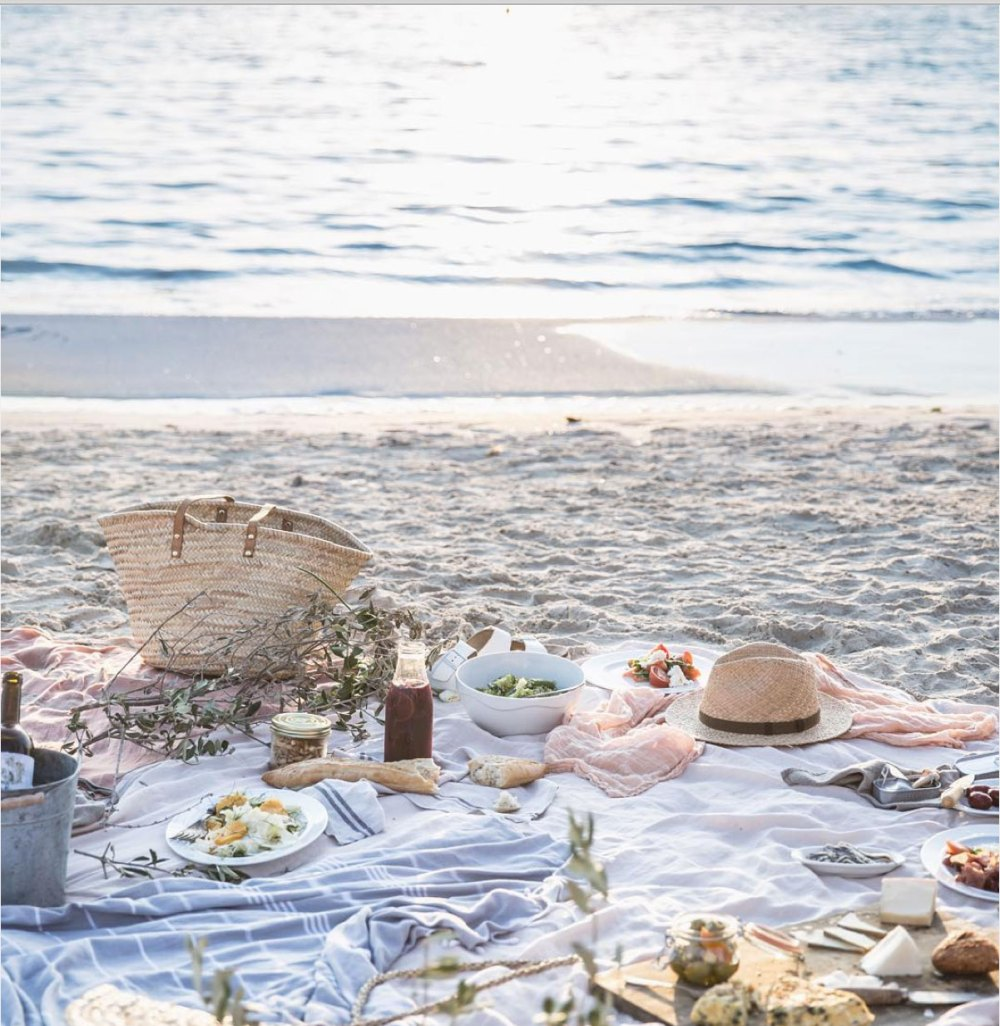 Sunset Beach on the Picnic | Gather Goods Co