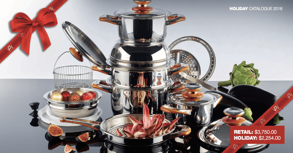 Philipiak Milano Classic Set 316 L – now available in holiday price!!!