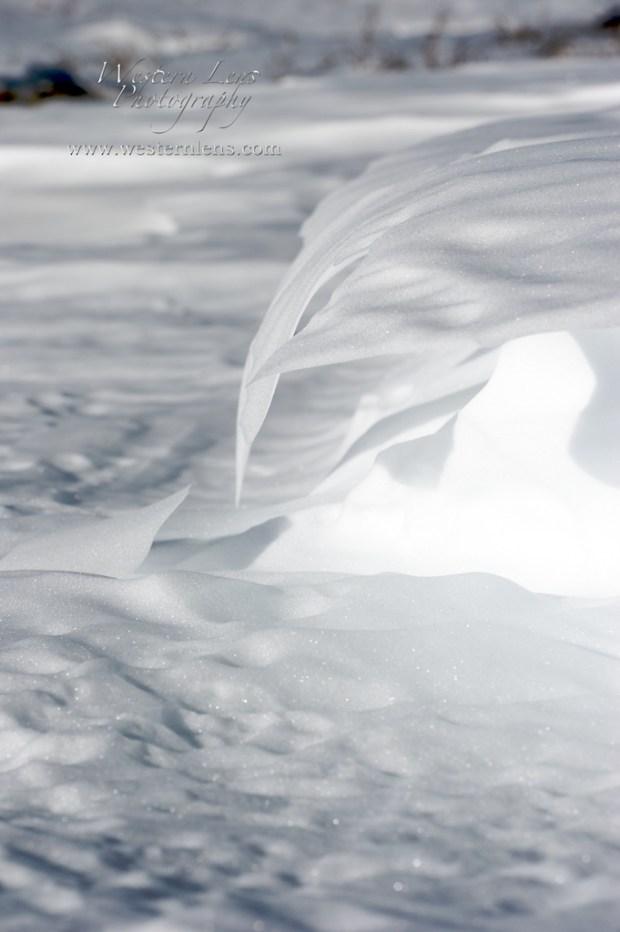 snow drift cornice