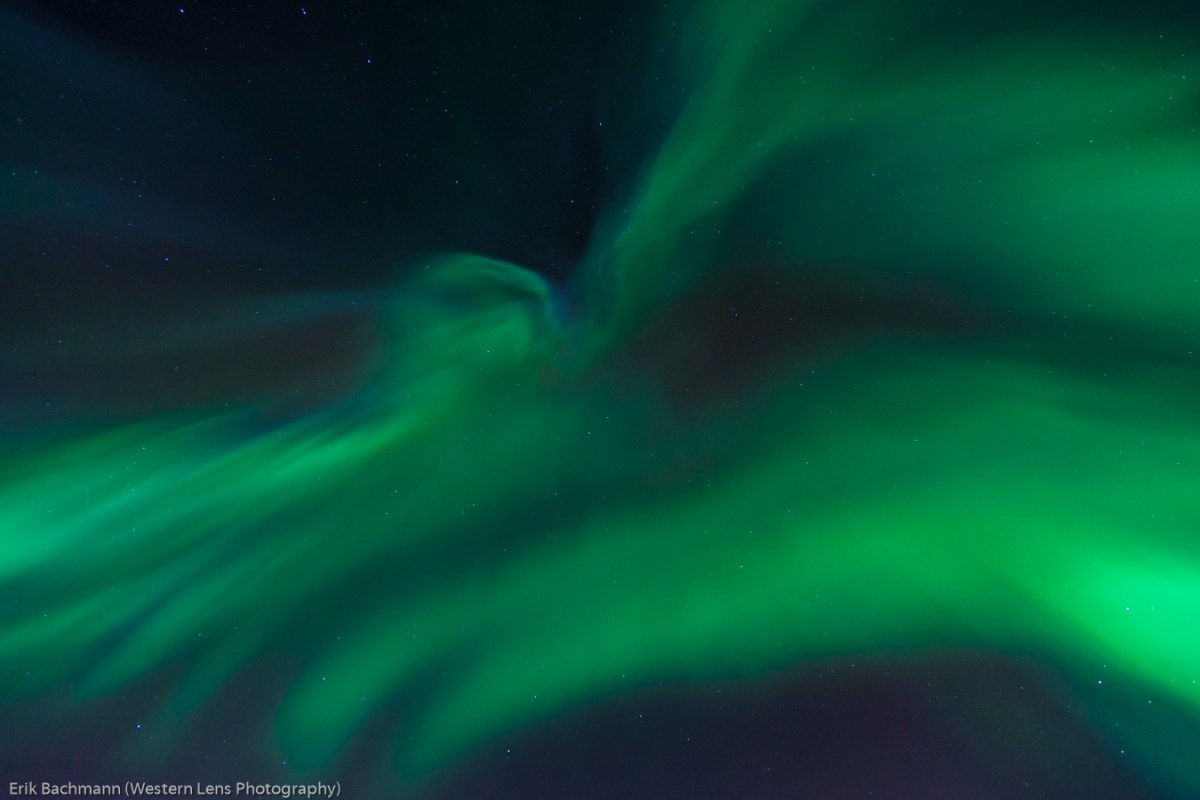 Aurora Borealis over Fairbanks, Alaska (2)