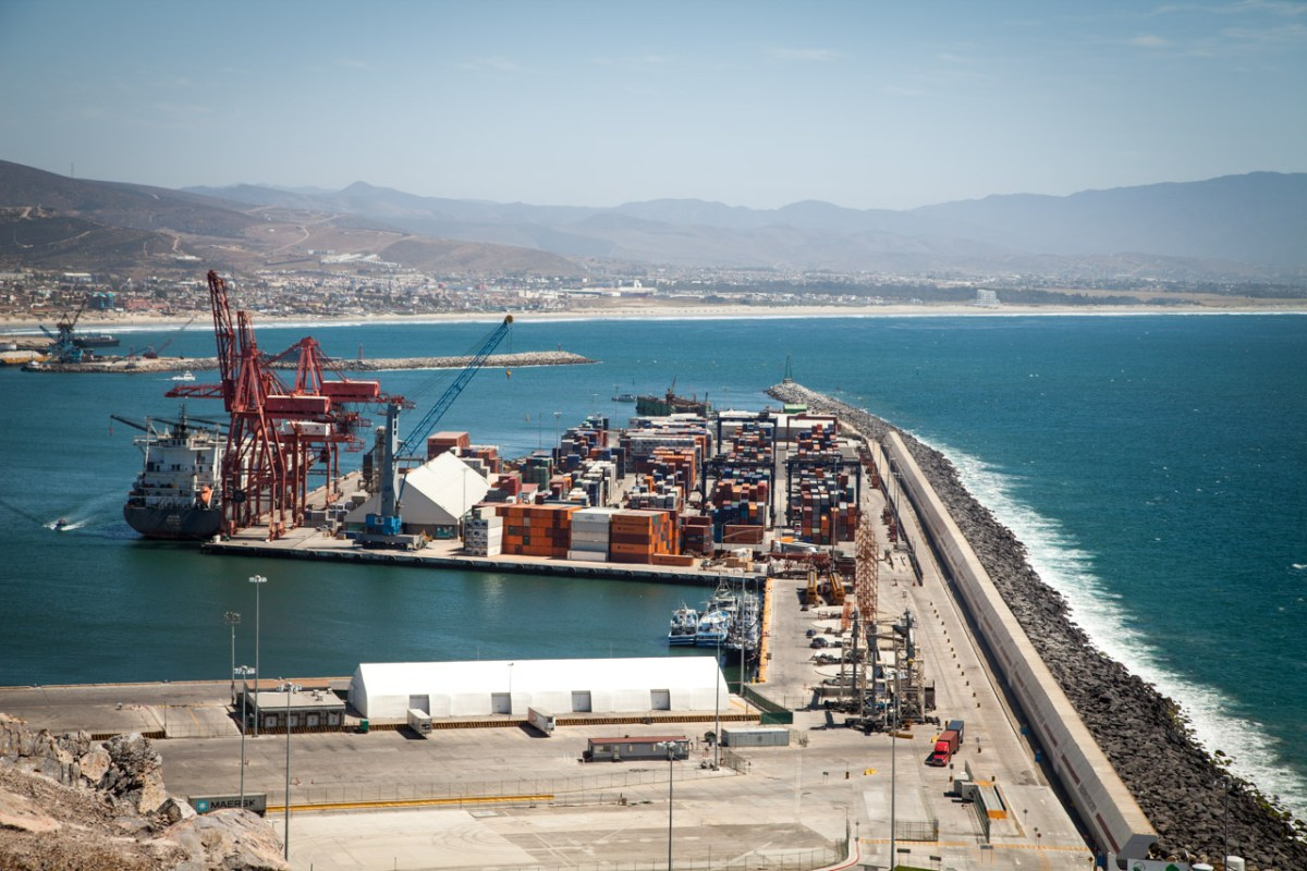 Ensanada Harbor customs