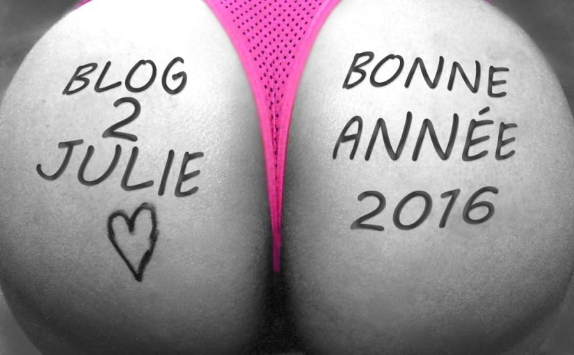 Bonne année 2015 sur Blog2Julie