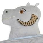 La cabeza del TaunTaun sirve de almohada