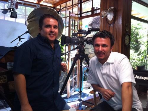 Cristian y David Abarca, abarcando el territorio chileno