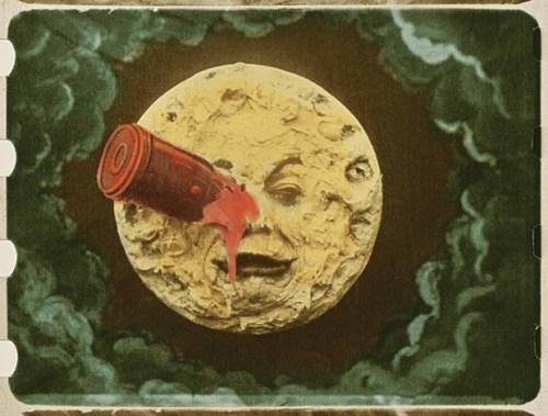 Un colorido viaje a la Luna