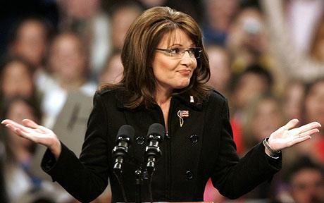 Sarah Palin, inspira y expira