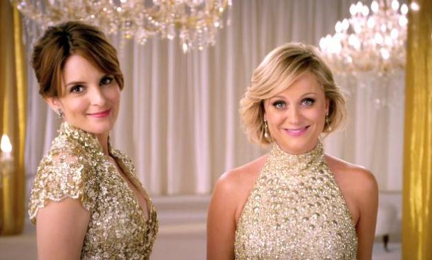 Las comediantes Tina Fey y Amy Poehler, presentadoras de los Golden Globes Awards 2013