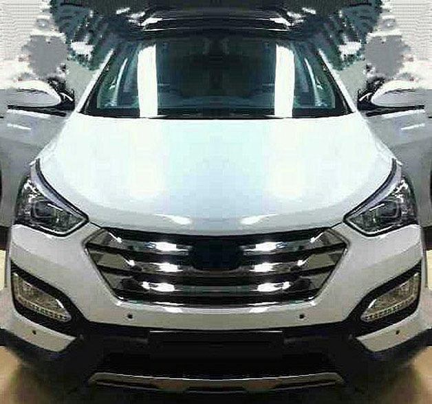 2013 Hyundai Santa Fe/ix45 spy shot