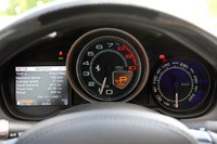 2013 Ferrari California gauges