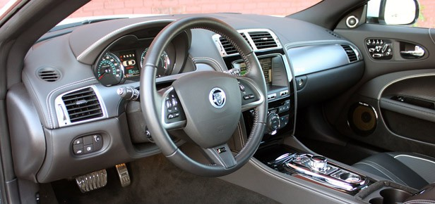 2012 Jaguar XKR-S interior