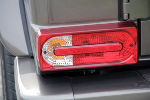 2013 Mercedes-Benz G63 AMG taillight