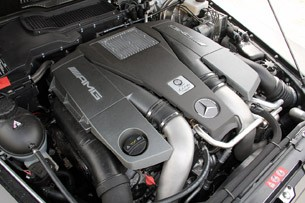 2013 Mercedes-Benz G63 AMG engine