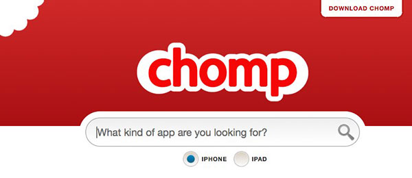 Apple drops Android search option from Chomp
