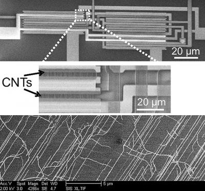 Stanford engineers find work around for barriers to carbon nanotube computers