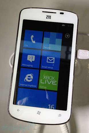 ZTE Tania waves Windows Phone flag for China, makes official mainland debut