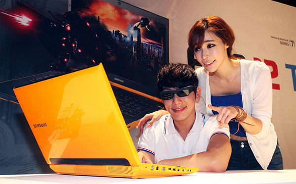 Samsung refreshing Series 7 Gamer with 3D display, AMD GPU, yellow hue