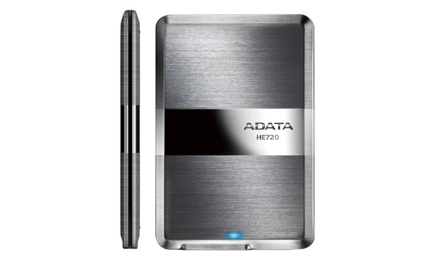 ADATAs got an 89mm thick portable USB 30 drive, limbos under the competition by a millimeter