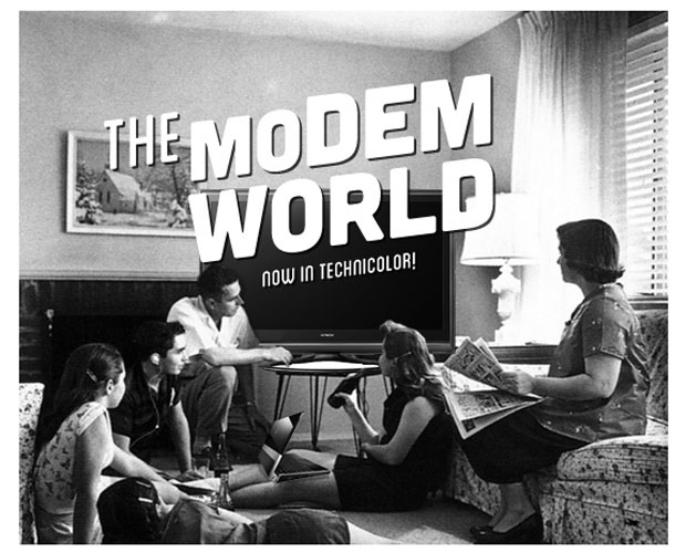 DNP This is the Modem World Why we go retro